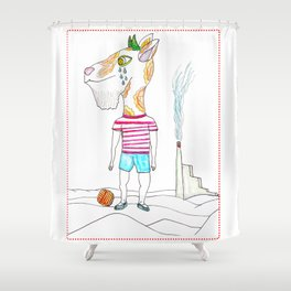 Goat Boy Why do not you have fun ? Shower Curtain