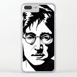 A Working Class Hero Is Something To Be Clear iPhone Case