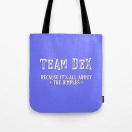 Team Dex Tote Bag
