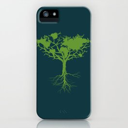Earth Tree iPhone Case