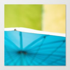 Summer Umbrella Canvas Print