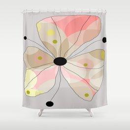 FLOWERY JOHANNA / ORIGINAL DANISH DESIGN bykazandholly Shower Curtain