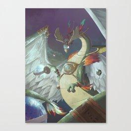 The Dreamteller of Travel Canvas Print