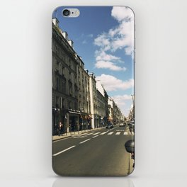 Sunny Day in Le Marais iPhone Skin