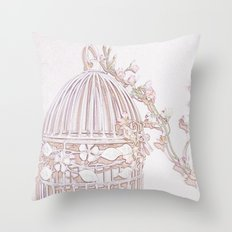 Blossom 2 Throw Pillow