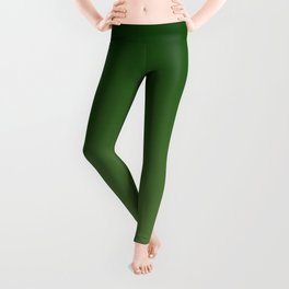 Forest and Greenery Gradient Leggings