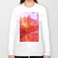 london Long Sleeve T-shirts featuring LONDON by Ganech joe