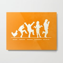Bluth Chickens Metal Print