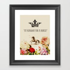 My Kingdom Framed Art Print