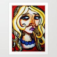 Old me Art Print