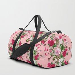 Spring In Bloom Pink Duffle Bag