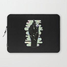 Capricorn - Zodiac Illustration Laptop Sleeve
