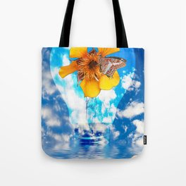Flowering Bulb Tote Bag