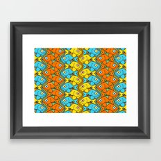 Something is Nicely Fishy Here! Framed Art Print