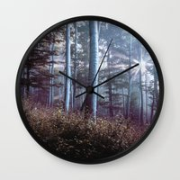 wanderlust Wall Clocks featuring Wanderlust by StayWild