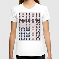 american flag T-shirts featuring American Flag by sophiabrooks