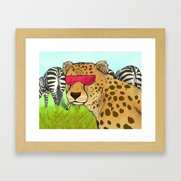 Looking for that booty Framed Art Print