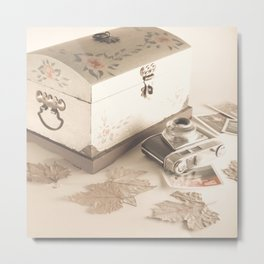 Remembers (vintage still life photography) Metal Print