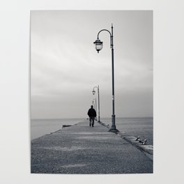 Along the dock Poster