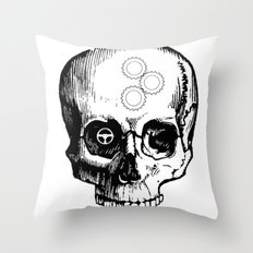 Gear Heads and Monkey Wrenches Throw Pillow
