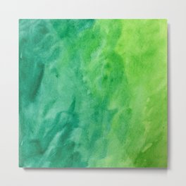 Mean and Green Metal Print