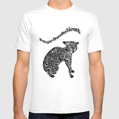 Artcat SMALL White Mens Fitted Tee