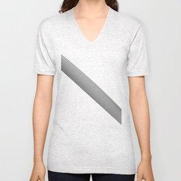 Stripes. Unisex V-Neck