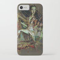 nurse iPhone & iPod Cases featuring Brookhaven Nurse by Apricot Mantle