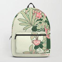 Plants Club (girl) Backpack