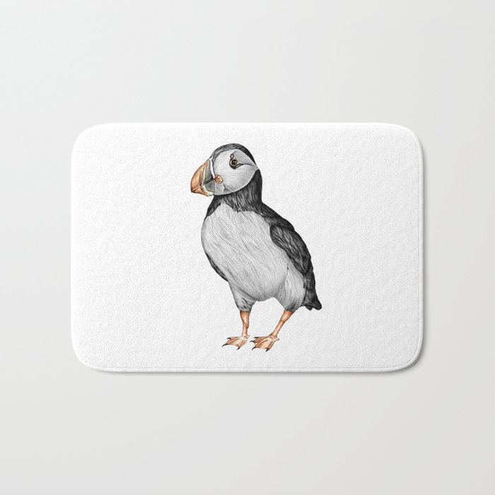 Little Puffin Bath Mat