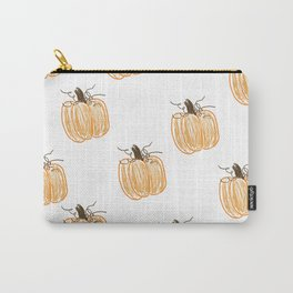 Pumpkin Patch Pattern Carry-All Pouch