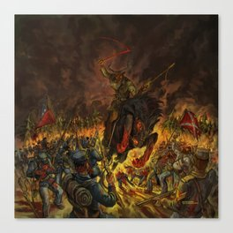 Karma To Burn - Arch Stanton Canvas Print