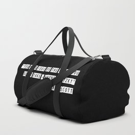 You miss 100% of the shots you don't take Duffle Bag