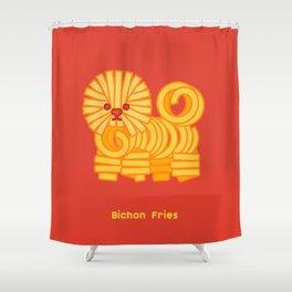 Bichon Fries Shower Curtain