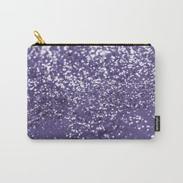 Sparkling ULTRA VIOLET Lady Glitter #1 #shiny #decor #art #society6 Carry-All Pouch
