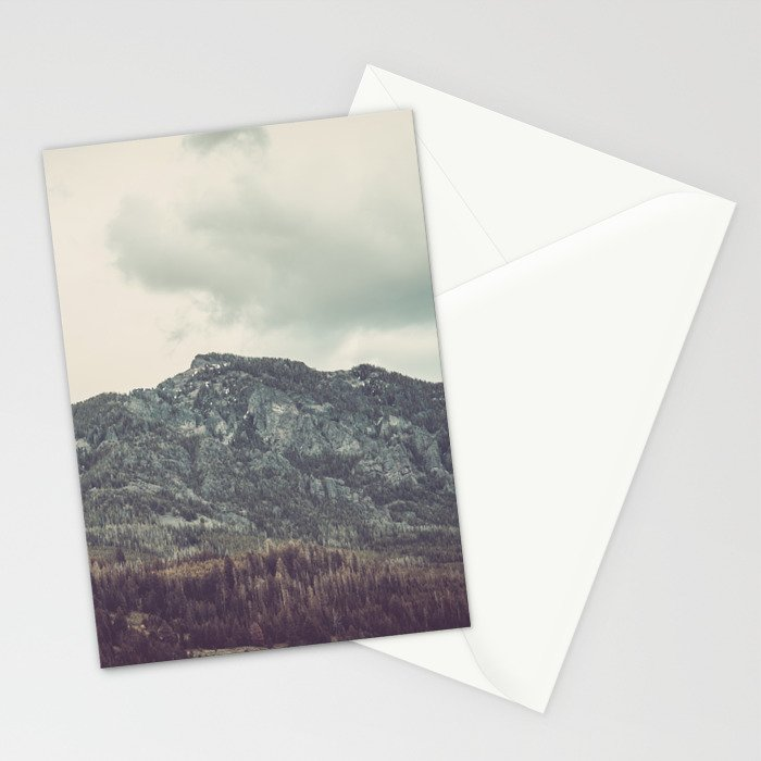 The Mountains of Montana Stationery Cards