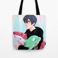 johannathemad Tote Bags featuring plushies by JohannaTheMad