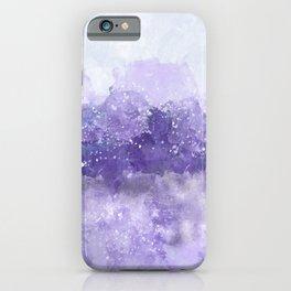Choppy Purple Ocean Water iPhone Case