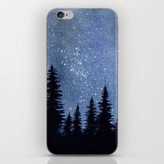 Starry Pines iPhone & iPod Skin