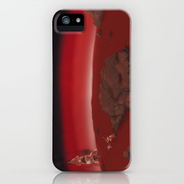 Nero Svenfor: Conquest of the planet Astrasuri-3 iPhone Case