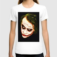 the joker T-shirts featuring Joker by William Cuccio aka WCSmack