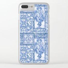 Terrific Tiles Clear iPhone Case