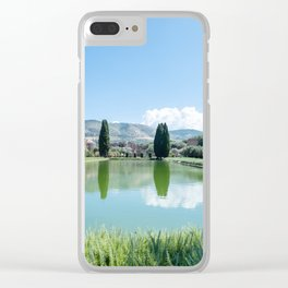 Italian Landscape in Tivoli Clear iPhone Case