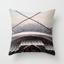 Clarity - NYC Throw Pillow