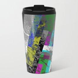 Textured Exclusion II Travel Mug
