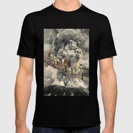 the eruption... T-shirt