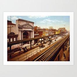 Bowery, New York City Art Print