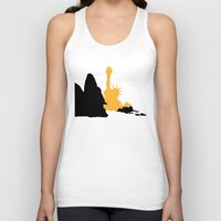 planet of the apes Tank Tops featuring Planet of the Apes by FilmsQuiz