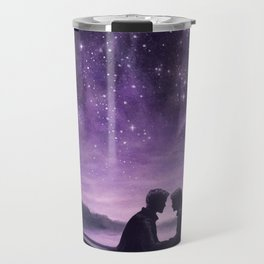 Lovers Under A Starlit Sky Travel Mug