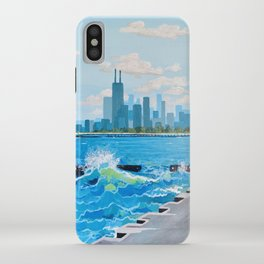 City on the Lake iPhone Case